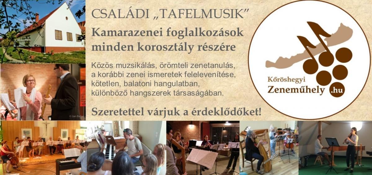 Tafelmusik Családi Nap hirdető